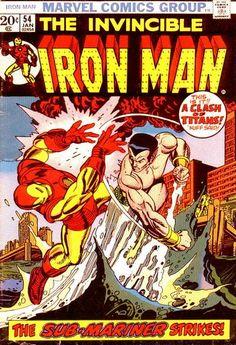 Iron Man #54 by Gil Kane