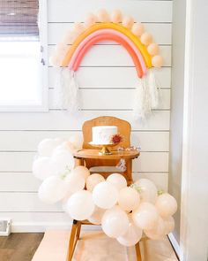 some more pictures from Eloise and Ivys boho rainbow birthday party Rainbow First Birthday, Girl First Birthday, First Birthday Parties, Birthday Party Themes, First Birthdays, Birthday Ideas, Balloon Birthday Parties, Party Themes For Girls, Simple First Birthday
