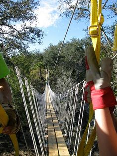Dangerous Rope Bridges That Will Leave You Without Breath- looks fun and scary at the same time!