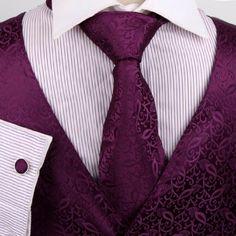 Vest pattern option.