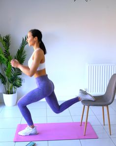 Leg Workout At Home, Home Workout Videos, Fitness Workout For Women, Body Transformation Workout, Slim Waist Workout, Fitness Competition, Mat Exercises, Healthy, Link