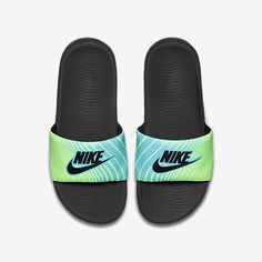 c7e2b8432e7 Nike Kawa Print (11c-7y) Kids  Slide Nike Slides For Girls