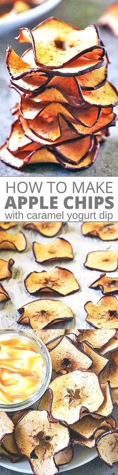 Dried apple chips make a tasty after school snack that kids love! I'll show you How To Make Baked Apple Chips at home that taste much better than any you can buy at the store and you'll save money too! Perfect party appetizer and anytime snack treat or even dessert recipe.