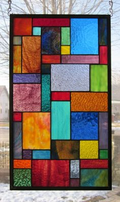 Details about Paradise Stained Glass Window Panel EBSQ Artist Transom Sidelight Valance – Glass Art Designs Modern Stained Glass, Stained Glass Quilt, Stained Glass Lamps, Stained Glass Designs, Stained Glass Panels, Stained Glass Projects, Stained Glass Patterns, Mosaic Glass, Fused Glass