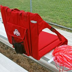 Support your back with a comfy seat - perfect for watching a fireworks display. Solutions.com
