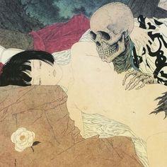 Image result for hokusai birds
