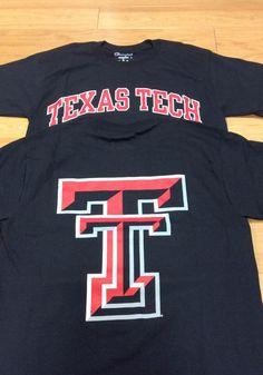 Champion Texas Tech Red Raiders Black Rally Loud Short Sleeve T Shirt - Image 2 Raiders Gifts, Raiders T Shirt, Tech T Shirts, Texas Tech Red Raiders, T Shirt Image, New Print, Short Sleeve Tee, Rally, Team Logo