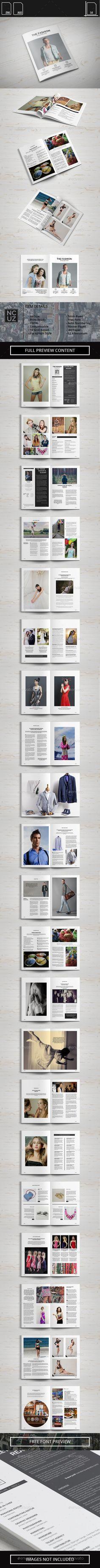 Simple Fashion Magazine Template #design Download: http://graphicriver.net/item/simple-fashion-magazine-/11802889?ref=ksioks