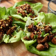 Satisfying and light, these chicken moo shu lettuce wraps feel like a real treat, with very minimal effort. They're great when you're hungry for more than a salad, but you don't want anything overly filling.