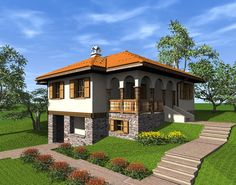 Old Serbian house Vernacular Architecture, Cottage Interiors, Serbian, Recycled Crafts, Home Projects, Building A House, House Plans, Sweet Home, Villa