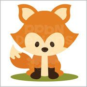 Woodland Fox (40% off for Members)