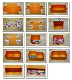 Washi Tape Storage Drawers Tutorial - possibly use for dressers, storage, etc.
