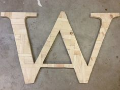 Build your own wall art using scrap wood that you would normally throw away. This letter wall art can make a beautiful piece for a wall in your home AND save you money on materials by using wood you already have laying around your shop.