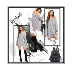ROMWE  7/10 by eldina12 on Polyvore featuring polyvore fashion style clothing