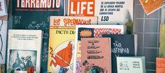 En RRD se venden e intercambian publicaciones no tan típicas: fanzines, cómics de culto, reediciones y reproducciones de artistas y editoriales jóvenes.