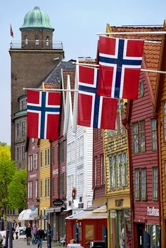 Bergen, Norway travel must-dos: Tour Bryggen wharf, visit the Hanseatic Museum and take a trip to the top of Mt. Ulriken.
