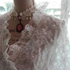 Shabby chic vintage Dressing gown wedding