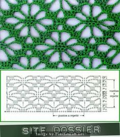 Best 12 Spider design worked continuously as lace ground stitch, not just on the edge or as isolated motif ~~ Crochet Scarf Diagram, Crochet Stitches Chart, Crochet Motifs, Filet Crochet, Crochet Doilies, Crochet Lace, Crochet Bolero Pattern, Knitting Patterns, Crochet Patterns