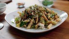 Penne With Zucchini, Basil And Ricotta Salata