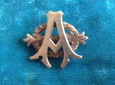 Alpha Phi Badge - 1896 - Eta Chapter (Boston University) Blanche Evelyn Hosmer Kimball