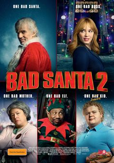 """""""BAD SANTA 2 is by far the worst present you're going to get this Christmas."""" Kernel Jack Dignan shares the anti-love for #BADSANTA2 - out today in Australia. http://saltypopcorn.com.au/bad-santa-2/"""