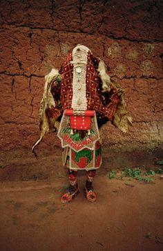 Les Vêtements traditionnels du Vaudou au Bénin (3)