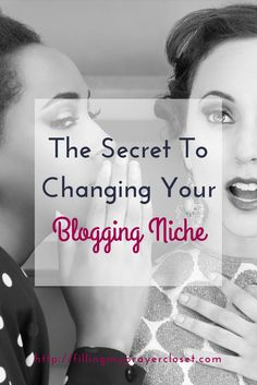 The Secret To Changing Your Blogging Niche. Are you thinking about changing your niche and afraid you'll lose subscribers? Don't be. I share why you can pivot your niche, change your niche and why it's still completely ok! by @faithfulsocial