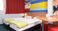 Zweibettzimmer im B&B Hotel Hamburg-Altona