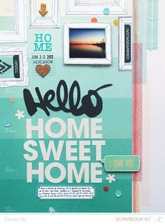 Home Sweet Home  by qingmei at @Studio_Calico