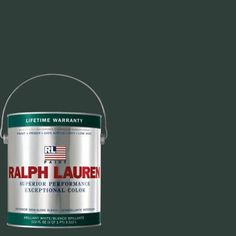 Ralph Lauren 1-gal. Scholar Green Semi-Gloss Interior Paint