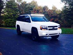 My lifted 09 trailblazer LT Gmc Envoy, Chevrolet Trailblazer, General Motors, Cool Trucks, Really Cool Stuff, Automobile, Cars, Nice, Vehicles