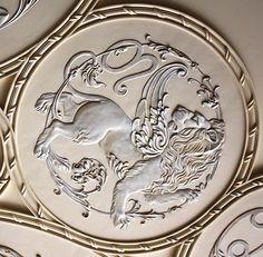 Купить гипсовый лепной декор, купить уникальную лепнину, узнать цену. Stone Carving, Wood Carving, Leather Carving, Sculpture Painting, No Name, Rare Coins, Wall Murals, Zodiac Signs, Art Decor