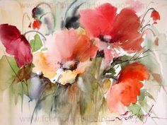 Watercolors, Oils and Acrylics by Brazilian artist Fabio Cembranelli featuring a gallery of original paintings, art tutorials, watercolor tips and his daily paintings. Watercolor Painting Techniques, Watercolor Artists, Watercolor Cards, Watercolour Painting, Watercolor Flowers, Painting & Drawing, Watercolor Tips, Watercolours, Watercolor Pictures