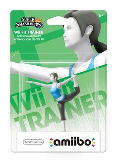 Nintendo Wii Fit Trainer amiibo