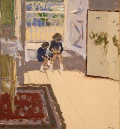 Édouard Vuillard (1868-1940) Children in a Room (c.1909) gouache on paper pasted on canvas 77.7 x 84.5 cm