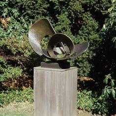 Barbara Hepworth Forms in Movement (Pavan), 1956 (cast 1967) Bronze 29 ½ x 43 x 22""