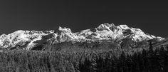 Mirage Peak | Darling Peak - Squamish, BC, Canada #Squamish #BritishColumbia #Canada #Explore #ExploreBC #ExploreCanada #Nature #Mountains