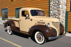 Plymouth pickup truck