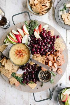 Great for appetizers or for dinner this low calorie easy Charcuterie Board guide creates wonderful platters for any occasion. FREE printable guide included.