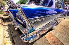 HDR photos of old cars