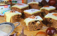Brownie à la Farine de Châtaigne, Crème de Marrons &; Chocolat Blanc Brownie, Beef, Food, White Chocolate, Conkers, Greedy People, Meat, Essen, Meals