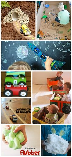 50 SUPER FUN activities for boys. So many neat ideas; My guys would love these!