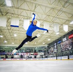 Gracie Gold in flight Gracie Gold, Winter Fun, Winter Sports, Ballet, Figure Skating Quotes, Ice Skaters, Ice Dance, Skating Dresses, Workout Challenge