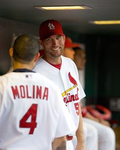 Wainwright & Molina... <3 that smile.... :)