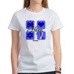 Hope ALS Awareness shirts, apparel and gifts #ALS #ALSdisease #ALSAwareness