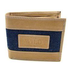 Hnědá kožená pánská peněženka - peněženky AHAL