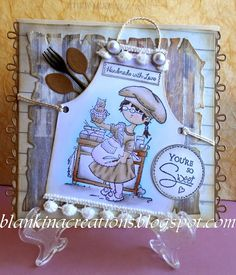 Blankina creations - Loves Rubberstamps Sensational Sunday Blog Hop Marianne Designs Dies