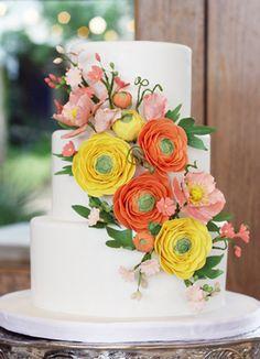 spring flowers. ©Coco Paloma Desserts