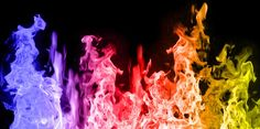 The way to do this is surprisingly simple, but first, using the list of ingredients below, decide which color – or colors – you would like to try. Colored flames…