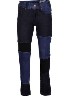 Arlene - Blue Patch - molo skinny jeans with patches